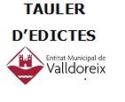 TAULER D'EDICTES